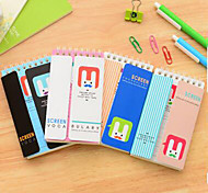 0364 South Korean Stationery Cute Coil Pocket Of The English Words Of The Portable Exercise Book