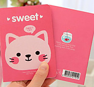 Korea Stationery Cute Little Animals A6 Notebook