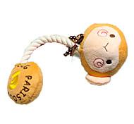 Petstyle cartoon plush bit rope toys Teddy dog entertainment