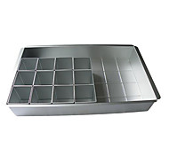 1X Letter Cake Pan Set Horneando Gran venta / De Armar / Alta calidad Pastel / Chocolate Aluminio Juego para hornear