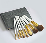 8Pcs Makeup Brush Set High-Grade Horsehair Eye Shadow Brush Beauty Makeup Tools Random Colors