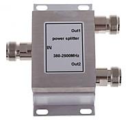 2-п женский делитель мощности сплиттер 380-2500mhz для мобильного телефона усилитель сигнала ретранслятора