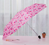 Short Three Folding Umbrella Umbrella Creative Portable Folding Umbrella