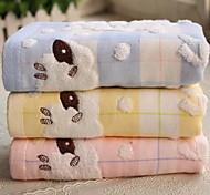 Double Cloth Art Lazy Jacquard Cotton Towel