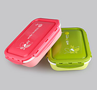 YEEYOO Brand FDA Keep warm comparments bento lunch box double wall BPA free