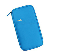 Blue multi-function receive bag bag passport wallet wallet bag package