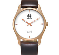 AIBI® Men's Fashion Watch Water Resistant/Water Proof Charles Florida Golden Light Coffee Wrist Watch For Men Cool Watch Unique Watch With Watch Box