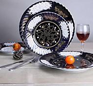European Royal Gold Art Ceramic Plate