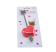 An Arrow Through a Heart Design Plastic Tea Spoon Strainer