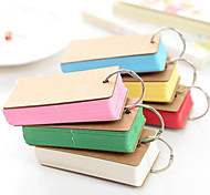 B324 Mini Pocket Notes This Word Cute Little Color Page Notebook Portable Mini Notebook
