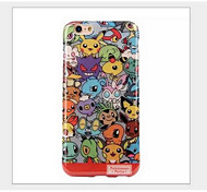The iphone 6 Japanese cartoon Pikachu pokemon case for apple iphone6