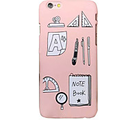 Geometric Tools Quality Feel Slick Surface PC Material Phone Case for iPhone 6 6S 6 Plus 6S Plus