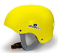 Helmet Kid's Snow Sport Helmet Ultra Light (UL) / Sports Sports Helmet Yellow / White / Blue Snow Helmet CE EN 1077 PC / EPSSnow Sports /