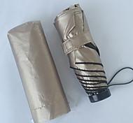 kok exportados para o Japão ultralight 190 gramas guarda-chuva Yusan uv sol super-dobrável guarda-sol