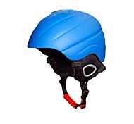 KUYOU Unisex helmet L58-61CM Sports Ultra Light (UL) Fixed 14 CE EN 1077 Snow Sports / Ski White / Blue PC / EPS