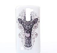 Para Funda LG Diseños Funda Cubierta Trasera Funda Animal Suave TPU LG LG K10 / LG K7