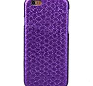 Mermaid Diamond Card Oil Side Skinning PC, PU Combo Phone Case For iPhone 6/6s/ 6 Plus/6s Plus