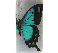 Butterfly Painting Pattern TPU Soft Case for Lenovo K3 Note