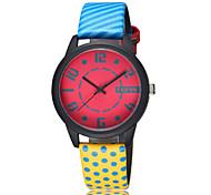 Fashion Personality Puzzle Leather Quartz Watch