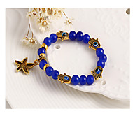 Strand Bracelets 1pc,Black / Blue Bracelet Vintage Star 514 Alloy Jewellery