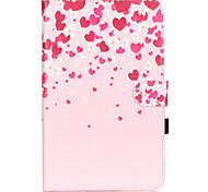 Voor Samsung Galaxy hoesje Kaarthouder / Portemonnee / met standaard / Flip / Patroon hoesje Volledige behuizing hoesje Hart Zacht PU-leer