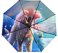 Twelve Constellation Umbrella Sunscreen Super Anti Ultraviolet Sun Umbrella