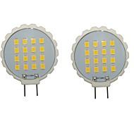 3W G8 LED à Double Broches T 16 SMD 2835 300-350 lm Blanc Chaud / Blanc Froid Décorative / Etanches AC 100-240 / AC 110-130 V 2 pièces