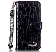 Hand Strap Phone Wallet Bag luxury Crocodile PU Leather Stand Flip Case For For iPhone 6s Plus/6 Plus/6s/6/SE / 5s / 5