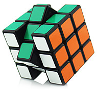 Shengshou® Smooth Speed Cube 3*3*3 Professional Level Stress Relievers / Magic Cube / Puzzle Toy Black / White Plastic