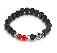 Strand Bracelets 1pc,Black Bracelet Fashionable Circle 514 Glass Jewellery