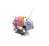 The Rabbit Wind-up Toy Leisure Hobby Metal White For Kid