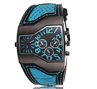The Movement Type Double Drive Men Personality Quartz Watch