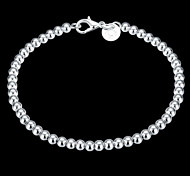 Bracelet Chaînes & Bracelets / Charmes pour Bracelets / Bracelets de rive Argent sterling Forme de Cercle / OthersCrossover / Mode /
