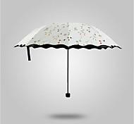 Ombrelle pliable Ensoleillé et Rainy Métallique