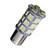 2X Cool White 1156 BA15S 27-SMD 5050 LED Light bulbs Backup Reverse 7506 1141