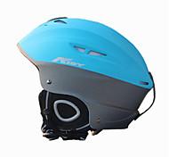 AIDY® Helmet Unisex Snow Sport Helmet Ultra Light (UL) / Sports Sports Helmet Blue Snow Helmet CE EN 1077 PC / EPS Snow Sports / Ski
