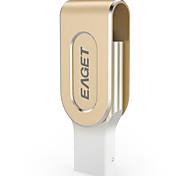 EAGET I80 32G USB3.0/Lightning OTG Mini Flash Drive U Disk for iPhones, iPads, Mac/PCs