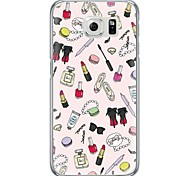 Girl's Life Pattern Soft Ultra-thin TPU Back Cover For Samsung GalaxyS7 edge/S7/S6 edge/S6 edge plus/S6/S5/S4