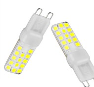 2PCS G9 28SMD 2835LED 4W 350-450LM Warm White / Cool White / Natural White Dimmable / Decorative AC220/AC110V