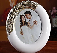 European Quality 8 Inch ABS White Oval Frame Wedding Gifts