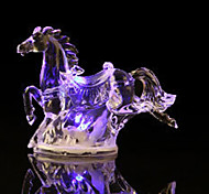 1PC LED  Creative Acrylic Crystal Shine Holiday Gift Valentine Indoor Decorations Night Light
