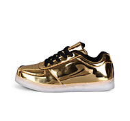 Other Other Casual Shoes Unisex Breathable Low-Top Leisure Sports Gold / Silver