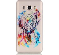 Dreamcatcher TPU Material Glow in the Dark Soft Phone Case for Samsung Galaxy J110/J310/J510/J710/G360/G530/I9060