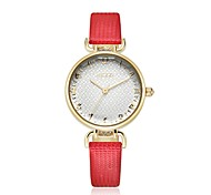 kezzi  delicacy lady quartz leather watch  1437