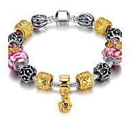 Bracelet Charmes pour Bracelets / Bracelets d'identification / Bracelets de rive Acier inoxydable Forme de CercleDurable / Mode / Bohemia
