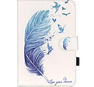 Para Soporte de Coche / con Soporte / Diseños Funda Cuerpo Entero Funda Other Suave Cuero Sintético Apple iPad Mini 4