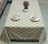New Cotton Table Cloth Side Table Tablecloths for Home(140 * 140cm)