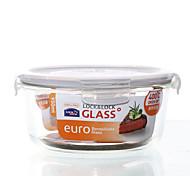 LOCK&LOCK 1/set Kitchen Kitchen Glass Lunch Box 180*82mm LLG861