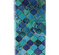 Per Custodia HTC A portafoglio / Porta-carte di credito / Con supporto / Con chiusura magnetica Custodia Integrale Custodia Geometrica
