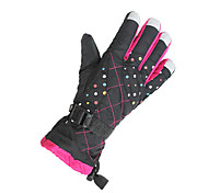 Winter Gloves Unisex Keep Warm Ski & Snowboard Red / Pink / Black / Blue / Purple Canvas Free Size-Others
